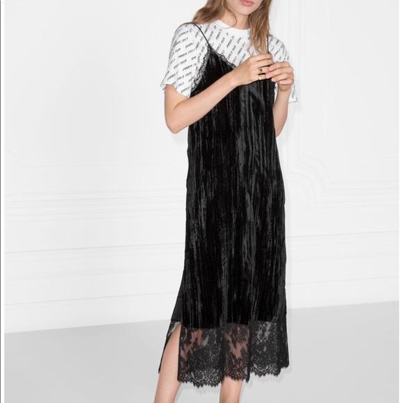 680a1aea9af0 Other Stories Dresses   Skirts -   other stories velvet slip dress